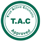 T A C  True Active Cosmetics approved